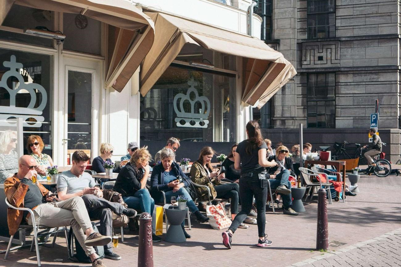 Restaurant Cafe Het Paleis in Amsterdam