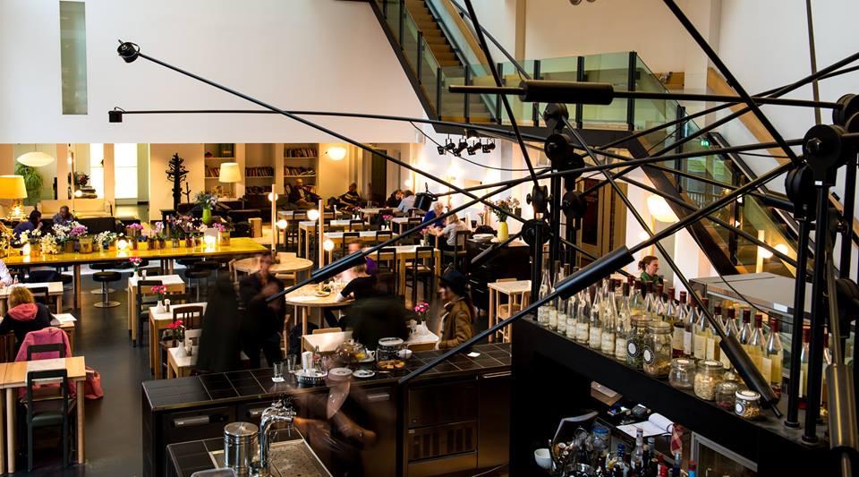 Lloyd restaurant in Hotel Lloyd Amsterdam