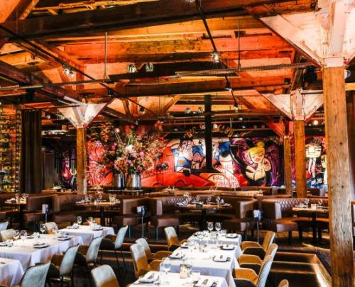 Restaurant The Harbour Club Oost Amsterdam