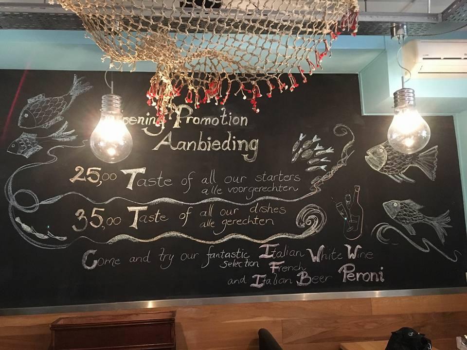 Visrestaurant La Pescheria Amsterdam