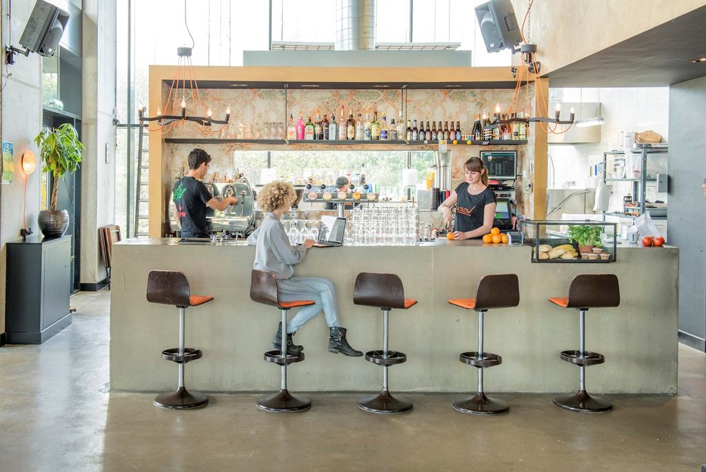 Restaurant Maslow Amsterdam - Huiskamer van het Science Park