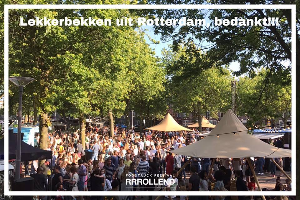 Rrrollend Foodtruckfestival Rotterdam
