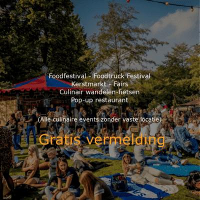Foodfestival Gratis op Bijzonder Uit Eten