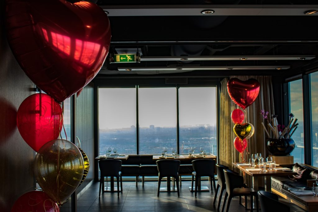 The Penthouse Restaurant and sky bar Den Haag