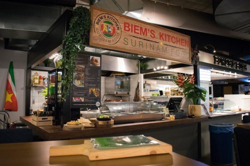 Biems Kitchen Market33 Zuidas Amsterdam