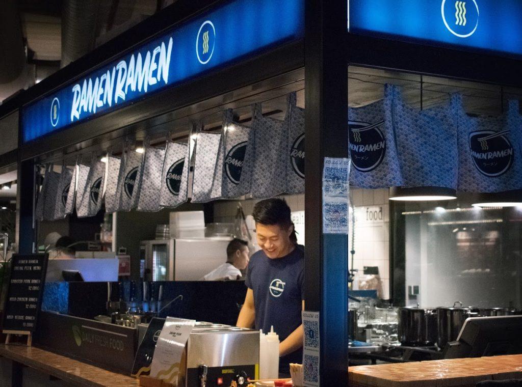 Ramen Ramen Market 33 Zuidas Amsterdam