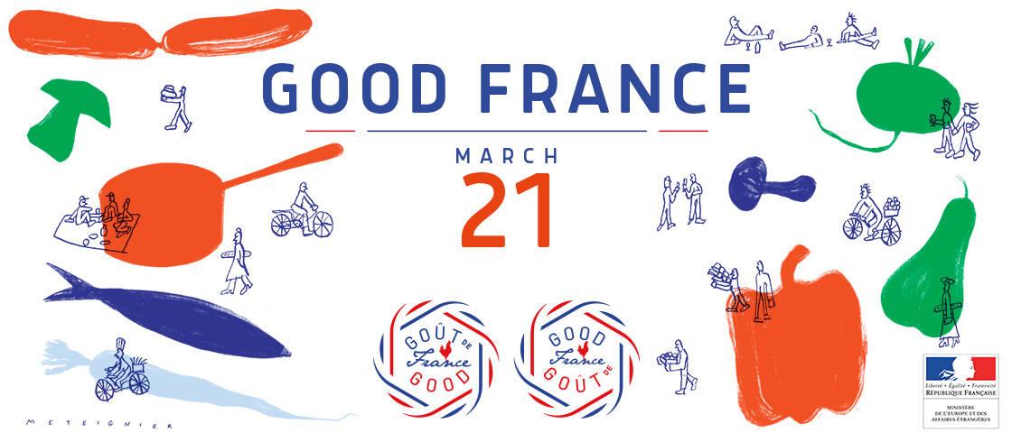 Goût de France - Good France 21 maart