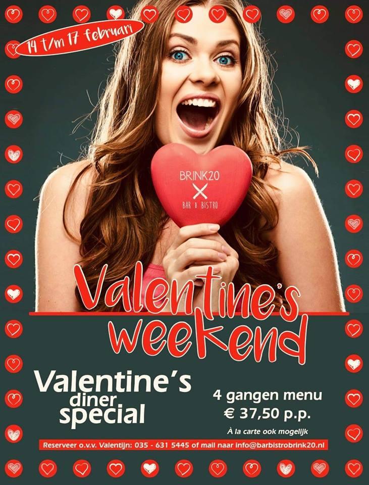 Valentijnsdag in Laren Bar Bistro Brink 20