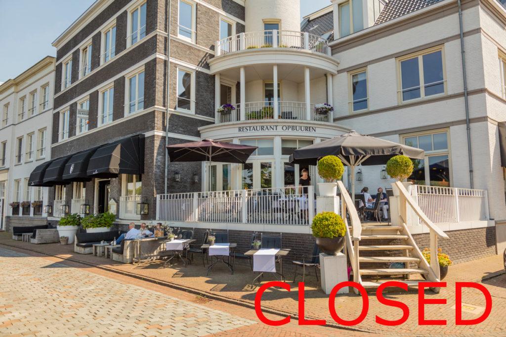 Restaurant Opbuuren Maarsen gesloten per 27jul19
