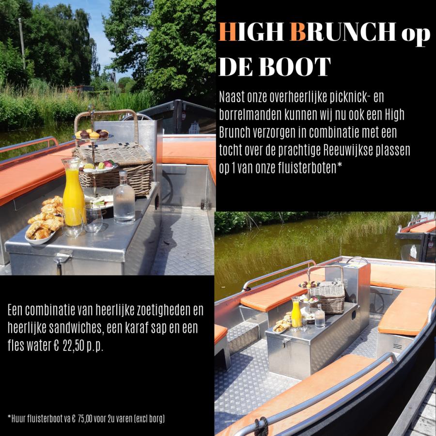 High Brunch op de boot - Restaurant 't Vaantje