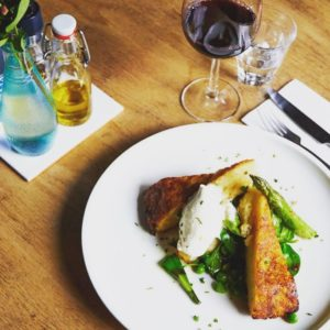 Restaurant Meiden van de Molen Spijkenisse - Vegetarisch gerecht