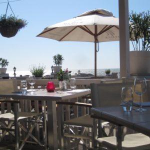Restaurant Meijer aan Zee Zandvoort - Terras