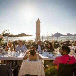 Restaurant Meijer aan Zee Zandvoort - eten op het strand