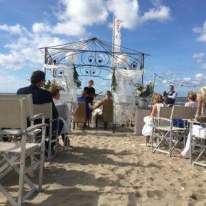 Restaurant Meijer aan Zee Zandvoort - trouwen op het strand