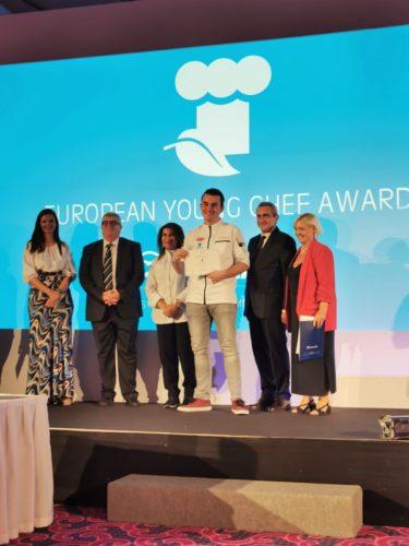 Vic Tosseram verrast bij European Young Chef Award 2019