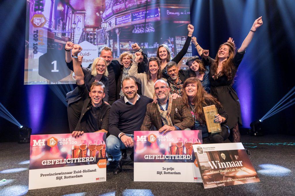 Winnaar Cafe Top 100 2019 Cafe Stijf