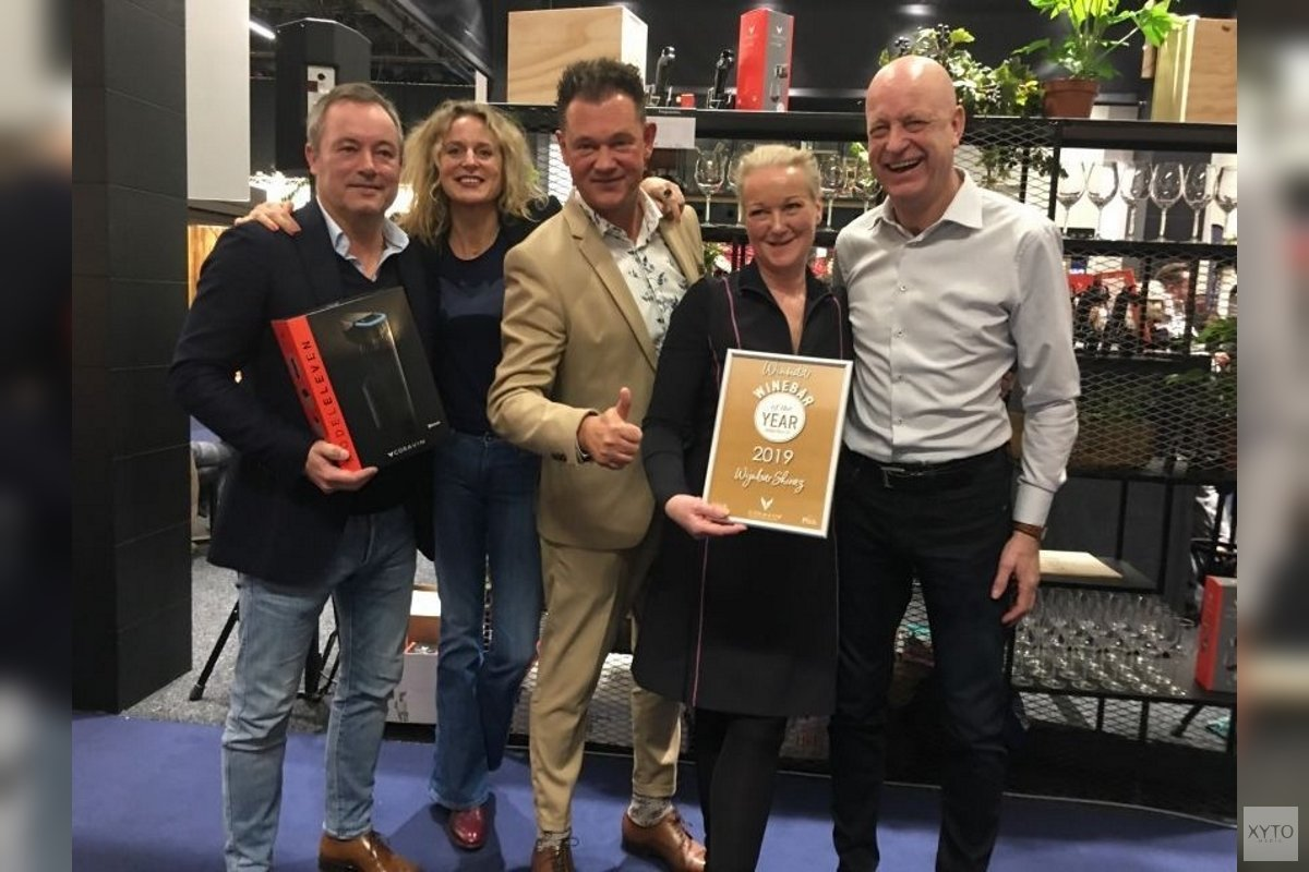 Shiraz bekroond tot Wine Bar of the Year 2019