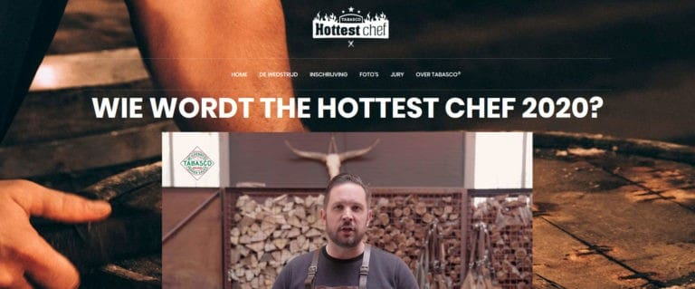 Hottest Chef 2020 - Tabasco competitie