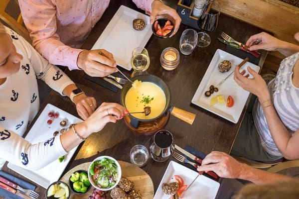 Kaasfondue restaurant Driebergen Rijssenberg Klein Zwitserland