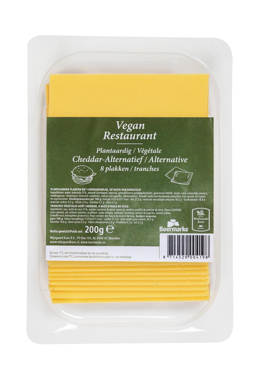 Wijngaard Kaas & Boermarke Lanceert Vegan Kaas